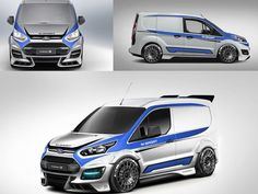 Ford Transit M-Sport Connect | Across the UK | Hartwell Vans