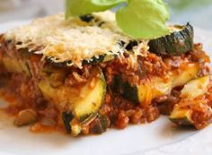 Lasagne s rajčaty, sýrem a šunkou Quiche, Risotto, Beef, Chicken, Breakfast, Ethnic Recipes, Treats, Foods, Lasagna