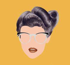 Vintage Eyeglasses  #vintage #eyewear #eyeglasses