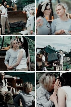 Alex and Piper in their dirt home, Vauseman season 5, Orange is the New Black
