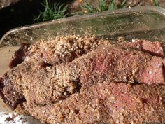 Easy recipe and directions for making healthy organic delicious biltong at home. How to make authentic South African tasting biltong and dry wors. How To Make Chili, Biltong, South African Recipes, Spice Mixes, Sugar And Spice, Beef Recipes, Easy Meals, Tasty, Stuffed Peppers