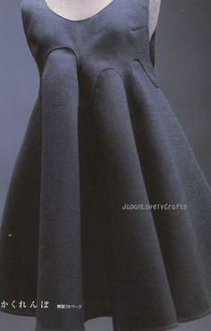 Pattern Magic Vol.1 - Japanese Sewing Pattern Book for Women - Gorgeous and Elegant Drape Dress, Costume - Tomoko Nakamichi - B20.