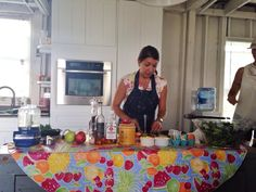 Cowgirl Chow cooking classes at Hellwig Farm outside of #Columbus, #Ohio. Field-to-Fork demos of original #recipes interpreting more sophisticated dishes using local, farm fresh ingredients. Watch for our #CowgirlChow #cookbook in 2015. Hee haw & bon appétit! Find us on FB.  Photo: Shawnie Kelley of Cowgirl Chow.