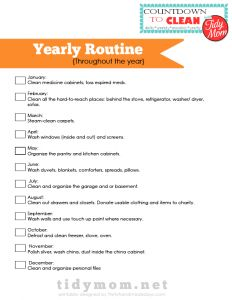 Yearly-Routine