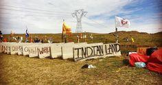 Aux États-Unis, les Sioux s'insurgent contre la construction d'un oléoduc chargé…