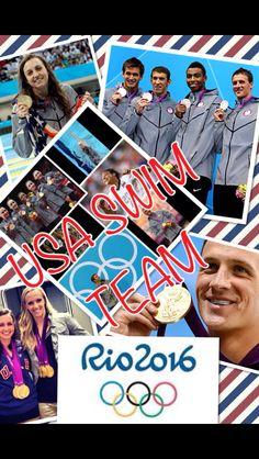 USA Olympic Swim Team