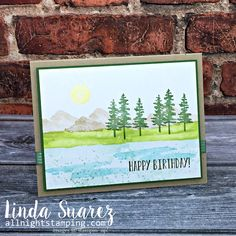 I needed another birthday card for a very special person, my dad! And I knew I wanted to use the new Waterfront stamp set from Stampin' Up! This just might be my favorite set in the 2018 Occasions Catalog. I CASEd my card from Patty Bennett at Patty's Stamping Spot. You can see her cards here. It …