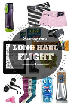 Want to know what to pack for a long haul flight?   Here are some of the best things to bring with you to make long haul flights much more enjoyable.