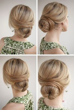 Hair Romance - 30 Buns in 30 Days - Day 29 - The Wrapped