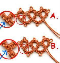 Tatting Tales ~ All things Tatting (It's an obsession): Merely interesting observations...