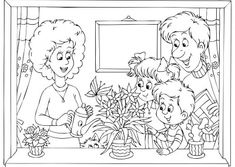Picture of Family at home stock photo, images and stock photography. Coloring Sheets, Clip Art, Princess Zelda, Stock Photos, Album, Fictional Characters, Scrapbooking Ideas, Separate, Fun Activities