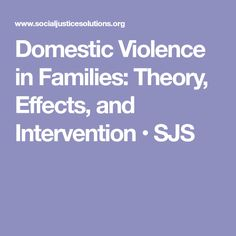 theories on domestic violence causes There are many different theories as to the causes of domestic force ( maltreatment )  these include psychological theories that consider personality social emphasiss, due to inadequate fundss or other such jobs in a household may farther increase tensenesss violence is non ever caused by emphasis.