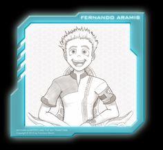 Fernando Aramis Character: Keithan Quintero and the Sky Phantoms