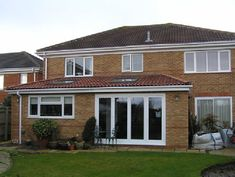 Rear extension (porch extension) House Extension Design, Glass Extension, Extension Designs, Rear Extension, House Design, Extension Ideas, Porch Extension, Kitchen Extension Family Room, Open Plan Kitchen Dining Living