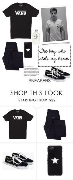 """""""The boy who stole my heart"""" by fashionontop1 ❤ liked on Polyvore featuring Vans, Givenchy, J.Crew, Calvin Klein, men's fashion and menswear"""