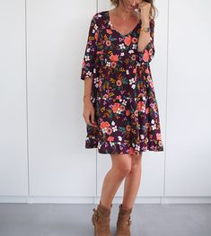 Couture Sewing, Textiles, Boho Outfits, Diy Fashion, Style Me, Cold Shoulder Dress, Casual, Fabric, Inspiration