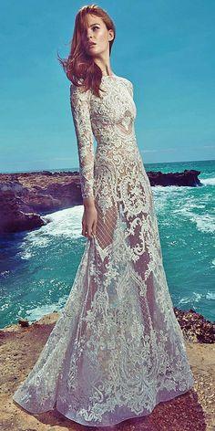 Zuhair Murad Spring 2017 Wedding Dresses / http://www.deerpearlflowers.com/zuhair-murad-spring-wedding-dresses-2017/