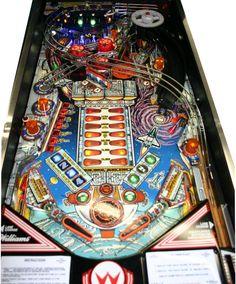 "1987 Williams "" Space Station "" Pinball Machine Super Nice Condition   eBay"