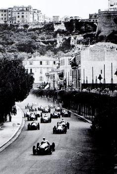 Juan Manuel Fangio Alfa Romeo 158 Monaco GP 1950