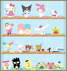 Which Sanrio Character do you ♥ most?