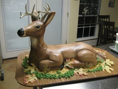 Let's just say it: wow. #Deer cake.