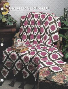 Summer Serenade Annie's Crochet Quilt & Afghan Pattern