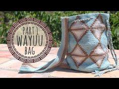 Tutorial Mochila Wayuu Ganchillo   Crochet - Parte 2 - YouTube