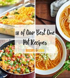This list has tasty one pot pasta and chicken meals, plus more! One Pot Meals, Easy Meals, One Pot Wonders, Chicken Recipes, Chicken Meals, Food Lion, One Pot Pasta, Better One, Curry