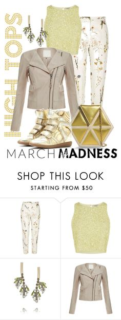 """March Madness: High Tops"" by pampaiy on Polyvore featuring moda, River Island, Marni y Salvatore Ferragamo"