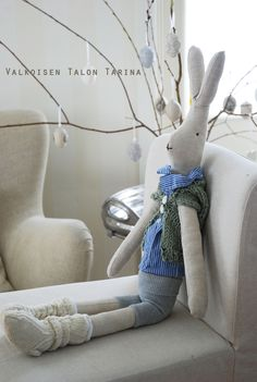 DIY sew your own bunnies...