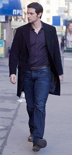 Oh, oh! Jeans again! ~ Lucas North (Richard Armitage)