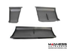 The set of three Genuine smart car Storage Tray inserts provide a nice non-slip surface for items in the storage compartments and enhances the appearance of your smart 451\'s interior.    These are the perfect solution for holding small items in your storage area without them sliding around. This is a Genuine smart product and designed to fit perfectly.    Features:     Genuine smart car product   Set of 3   Designed specifically for the smart fortwo 451   Provides a safe, non-slip surface...
