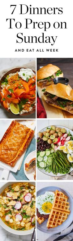 Sunday dinner prep will make your whole week easier. Get all the delicious meal prep dinner recipes here.