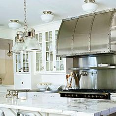 Impressive kitchen and hood