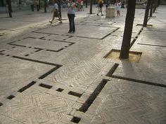 Street Runnels, Seville, Spain