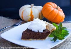 Curry and Comfort: Chocolate Pumpkin Pie