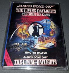 James Bond 007 - The Living Daylights James Bond Books, James Bond Movies, Cassette, Up Game, Tie, Gaming Computer, Spectrum, Computers, Range