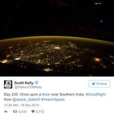+ - Ao publicar uma foto, que aparentemente mostra um objeto voador não identificado, tirada da Estação Espacial Internacional, o astronauta Scott Kelly acabou gerando muita curiosidade entre os pesquisadores de OVNIs. Kelly acabou obtendo uma belíssima imagem do planeta à noite, onde pode-se ver as luzes das cidades. Porém, no canto superior direito da …