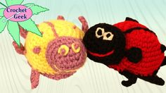 How to Crochet Amigurumi LadyBug Princess Crochet Geek