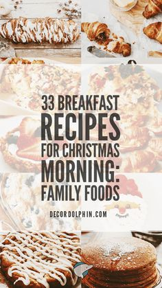 Family Friendly Food: 34 Breakfast Recipes for Christmas Morning: Family Foods. The Breakfast Club, Breakfast Dishes, Breakfast Time, Breakfast Casserole, Breakfast Recipes, Breakfast Ideas, Hashbrown Breakfast, Brunch Ideas, Christmas Morning Breakfast