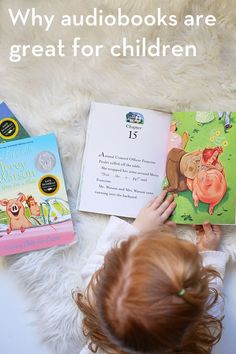 8 Reasons To Try Audiobooks with Your Child