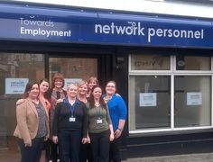 Welcoming our first clients onto the JobPath Programme at our office in Cavan - Network Personnel