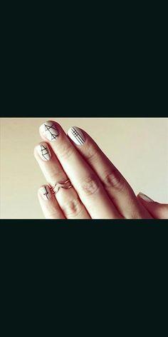 23 nail art με γεωμετρικά σχέδια για φανταστικά #cosmoνύχια