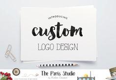 Complete Custom Logo Design Website branding Boutique Logo Design Branding
