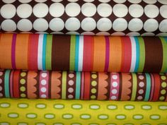 bright fabric bundle by bumbletees on Etsy