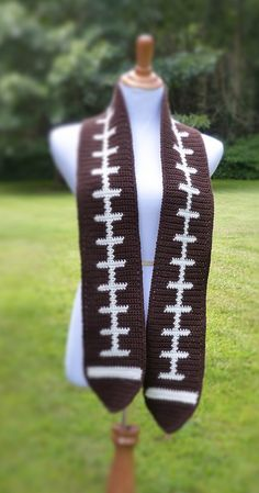 Ravelry: Football Scarf by Doni Speigle