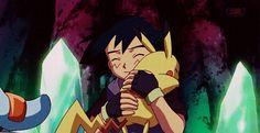 Ash Ketchum and Pikachu with their Hoenn Pokemon Team ^.^ <3
