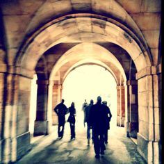 Original and very evocative: Arches, Mayfair, London