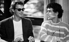 Marcos Palmeira e Guilherme Fontes, 1988.
