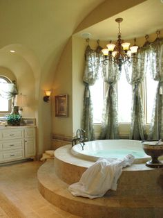 Mediterranean Bathroom Design- I really want this someday  [Pictures, Remodel, Decor and Ideas - page 26]
